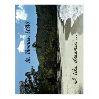 Cartão Postal Praia de St Thomas