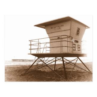 Cartão Postal Praia de Ventura da torre do Lifeguard