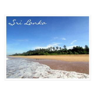 Cartão Postal praia do bentota
