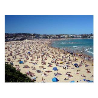 Cartão Postal praia do bondi
