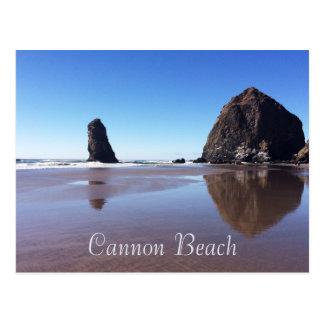 Cartão Postal Praia do canhão/rocha do monte de feno
