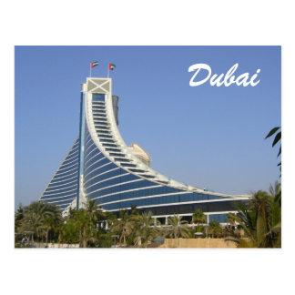 Cartão Postal praia do jumeirah de Dubai