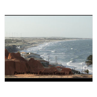 Cartão Postal Praia do Morro Branco Brasil