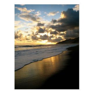 Cartão Postal Praia do parque nacional de Corcovado