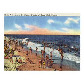 Cartão Postal Praia em Cape Cod