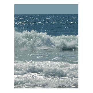 Cartão Postal Praia em Montauk