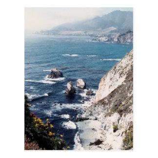 Cartão Postal Praia isolado
