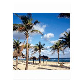Cartão Postal Praia Playas Cuba