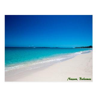 Cartão Postal Praia tropical do paraíso