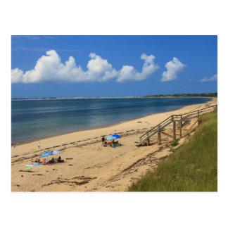 Cartão Postal Praia Truro da baía de Cape Cod