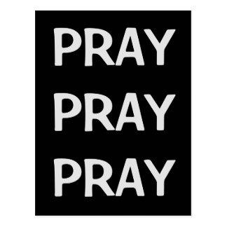 Cartão Postal Pray