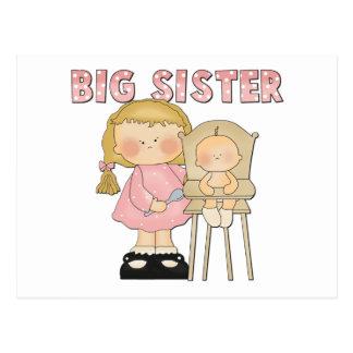 Cartão Postal Presente da irmã mais velha