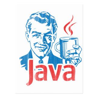 Cartão Postal Presente do programador de Java