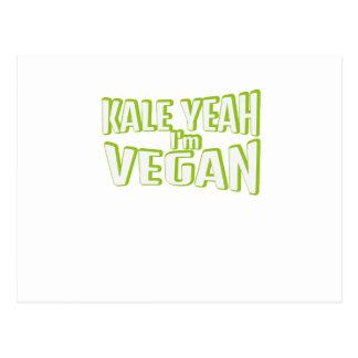 Cartão Postal Presente livre animal vegetal do vegetariano do