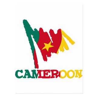 Cartão Postal Presentes de República dos Camarões