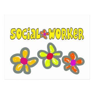 Cartão Postal Presentes do assistente social