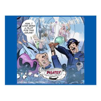 Cartão Postal Presentes engraçados de Londres do rick das linhas