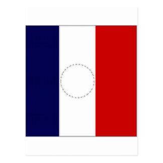 Cartão Postal Presidente Bandeira de France