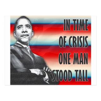 Cartão Postal Presidente Barack Obama