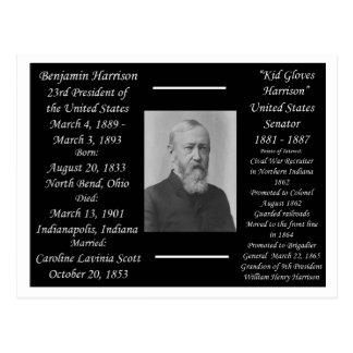 Cartão Postal Presidente Benjamin Harrison
