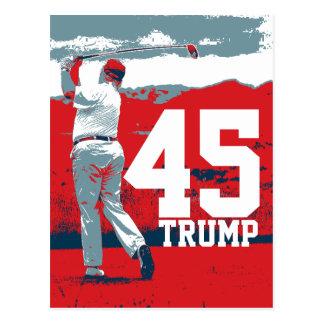 Cartão Postal Presidente de Donald Trump 45th