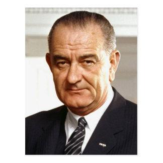 Cartão Postal Presidente de Lyndon B. Johnson 36th
