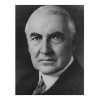 Cartão Postal Presidente de Warren G. Harding 29o