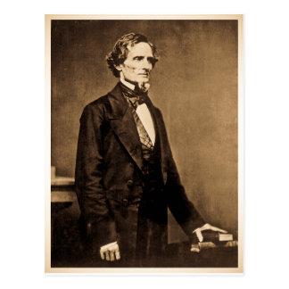 Cartão Postal Presidente do sul Jefferson Davis