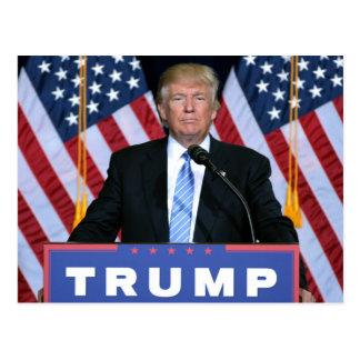 Cartão Postal Presidente Donald Trump