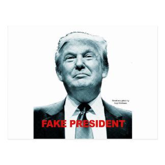 Cartão Postal Presidente falsificado (trunfo)