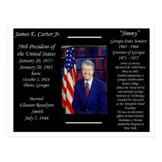Cartão Postal Presidente Jimmy Carter