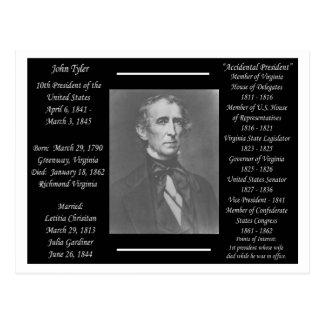 Cartão Postal Presidente John Tyler
