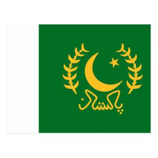 Cartão Postal Presidente Paquistão, Paquistão