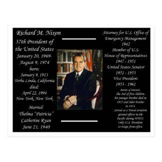 Cartão Postal Presidente Richard Nixon