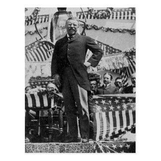Cartão Postal Presidente Theodore Roosevelt em Wyoming