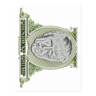 Cartão Postal Presidente Trunfo Dólar