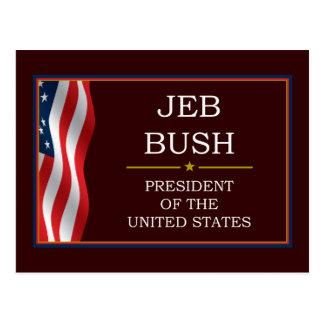 Cartão Postal Presidente V3 de Jeb Bush