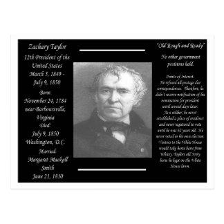 Cartão Postal Presidente Zachary Taylor