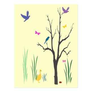 Cartão Postal Primavera