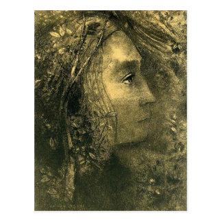 Cartão Postal Primavera por Odilon Redon