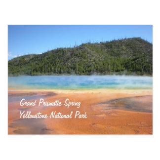 Cartão Postal Primavera prismático grande