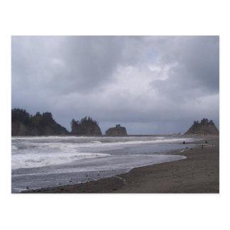 Cartão Postal Primeira praia em LaPush