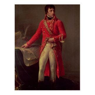 Cartão Postal Primeiro cônsul de Napoleon Bonaparte, 1802