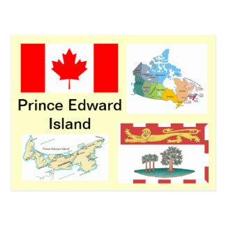 Cartão Postal Prince Edward Island, Canadá