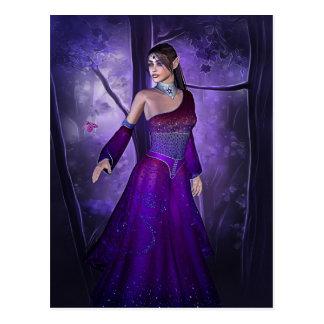 Cartão Postal Princesa do duende