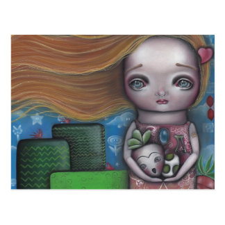 Cartão Postal Princesa do jogo de vídeo