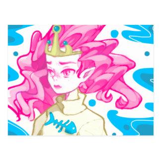 Cartão Postal Princesa do mar