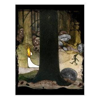 Cartão Postal Princesa nas madeiras