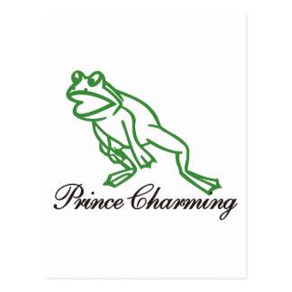 Cartão Postal Príncipe encantamento