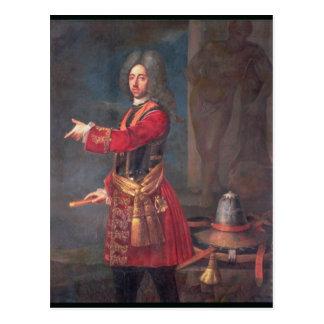Cartão Postal Príncipe Eugene do Savoy